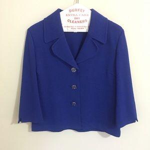 St. John blue jacket